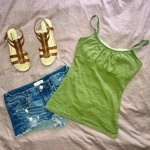 ENERGIE Girly Green Tank